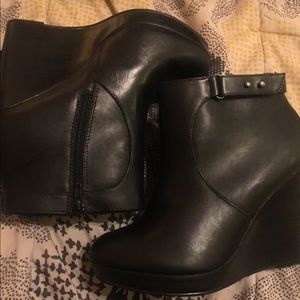 Wedged Torrid Boots